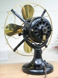 a popular and widely available early fan is the westinghouse tank fan so named most likely as they are built like a tank or do look as if they are so