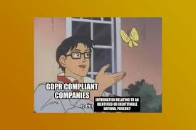 i don t know why gdpr is so funny but it is the verge
