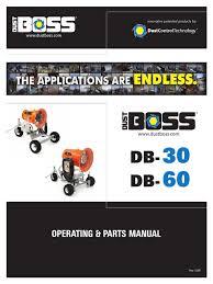 dustboss manual 2 clutch pump