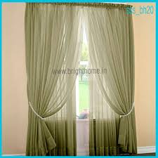 Green Sheer Curtains Home Textile Products Sheer And Semi Sheer Curtains