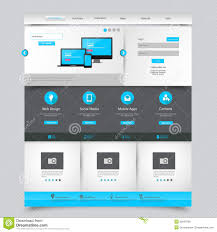 free website for home design business website template home page design clean and simple
