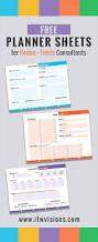 rodan and fields business checklist and planner sheets calendar