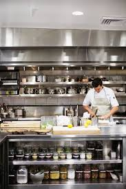 Design Commercial Kitchen Exellent Restaurant Kitchen Design With Metal Chrome Cabinet