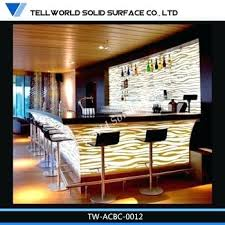 home design kendal commercial bar counter design new manufacturer customized bar