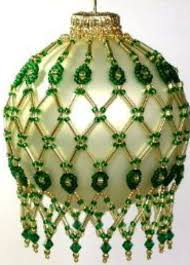 2326 best beaded christmas ornaments images on pinterest beaded