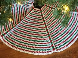 ravelry magic tree skirt pattern by kristine mullen