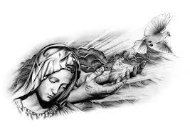 virgin mary praying tattoo design best tattoo 2017
