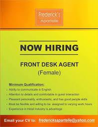 front desk jobs hiring now hiring front desk officer job hiring pinoyjobs ph