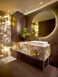 paris mirror round bathroom mirror with led backlight from