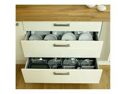 rangement pour meuble de cuisine séparateur de rangement pour casserolier inspiration