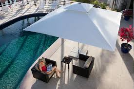 Square Patio Umbrellas Patio Umbrella Supremo Caravita Commercial Patio Umbrellas