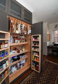 decorations contemporary kitchen pantry design with black