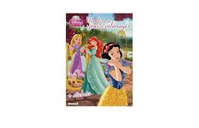 Cadeau Affaires High Tech  Livre de coloriage Disney Princesses