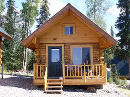 Architecture Alaska Cabinwith Wood Material Tiny House Design