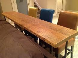 Sofa Table With Stools Height Simple Bar Table Sofa Idea