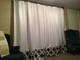 Dorm Room Window Curtains Using Shower Curtains For Window Treatments The Creativity In