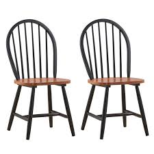 Dining Chair Cherry Amazon Com Boraam 31516 Farmhouse Chair Black Cherry Set Of 2