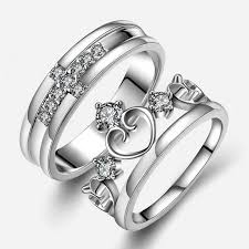 engagement rings for couples rings knot rings rings for couples jewinston