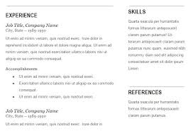 resume templates for docs resume format free builder templates docs brianhans me