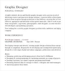Samples Of Resume Pdf by Graphic Designer Cv Example Pdf Free Samples Examples U0026 Format