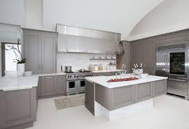 granite countertop ikea white cabinets kitchen refrigerator