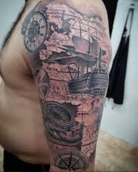 50 amazing ship tattoos you won t believe are tattooblend