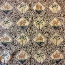 tapestry home decor 1016fg camel tapestry middle east palm diamond cheetah woven home