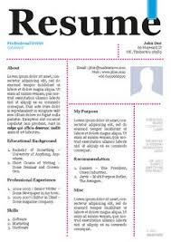 graphic designers single page resume creative resume templates