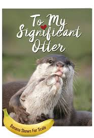 groundhog day cards big significant otters petigreet s day card by nobleworks