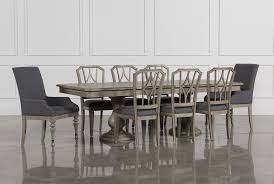 Dining Room Table Chair Caira 9 Piece Extension Dining Set W Diamond Back Chairs Living