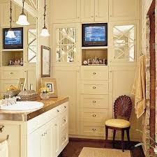 bathroom tv ideas bathroom tv design ideas floor to ceiling cabinets vertical