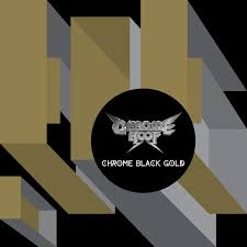 black photo album chrome black gold cuneiform records