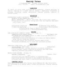 Reverse Chronological Order Resume Example Chronological Resume Example Chronological Resume Cover Letter