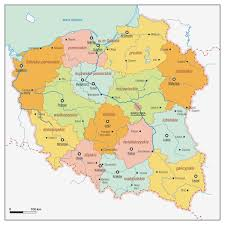 Map Poland Poland Maps