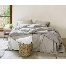 Linens And Things Duvet Covers 100 Linen Duvet Cover Rough Linen Natural Minimalist Bedding