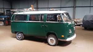 green volkswagen van 1970 vw deluxe microbus delta green patina youtube