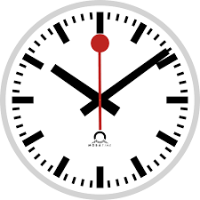 file swiss railway clock 1 svg wikimedia commons