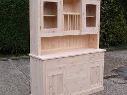 free standing kitchen unit with plate rack wood furniture free