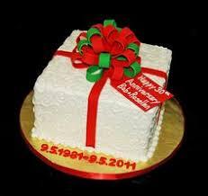 square elegant anniversary cakes square cake to celebrate 35th