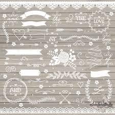 Shabby Chic Wedding Decor For Sale by Wedding Clipart Rustic Clipart Shabby Chic Wedding Lace Clipart