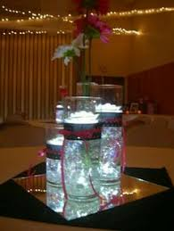 lighted centerpieces for wedding reception centerpiece submerged flower centerpiece lighted centerpieces