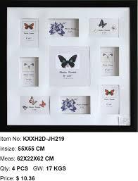 wholesale home decor suppliers china wholesale plastic photo frame ps photo frame multi aperture photo