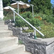 External Handrails Stair Handrail Kits For Your Garden House Entrance And Outdoor