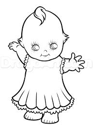 kewpie drawing tutorial kewpie doll step by step stuff pop