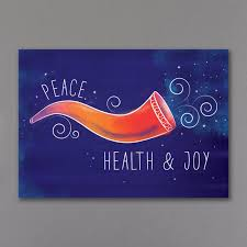 custom new year cards colorful shofar new year card custom wedding bar mitzvah