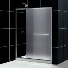 kohler bathroom designs bathroom frosted kohler shower doors with shower and black