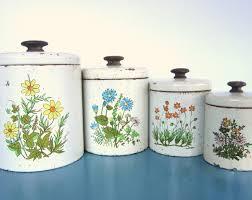 70 best vintage canister sets images on pinterest vintage