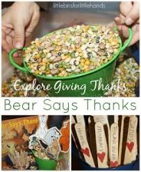 thanksgiving activities and sensory play for