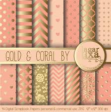 Coral And Gold Bedding Coral And Gold Picmia