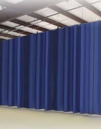 Industrial Curtain Wall Room Dividers Industrial Curtains Divide Work Spaces While